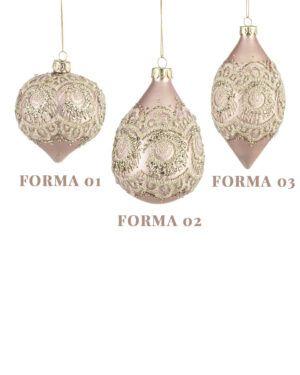 Bolas de Cristal de Murano Rosa