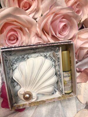 Concha y perfume Neroli