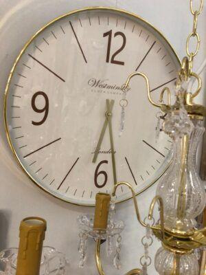 Reloj Marco dorado 50cm